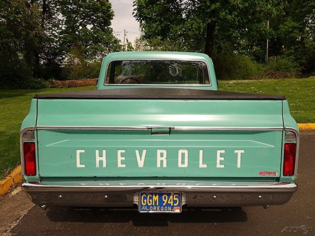 1968 Chevrolet Pickup Light Green 350 V8 Th350 Ps Pdb