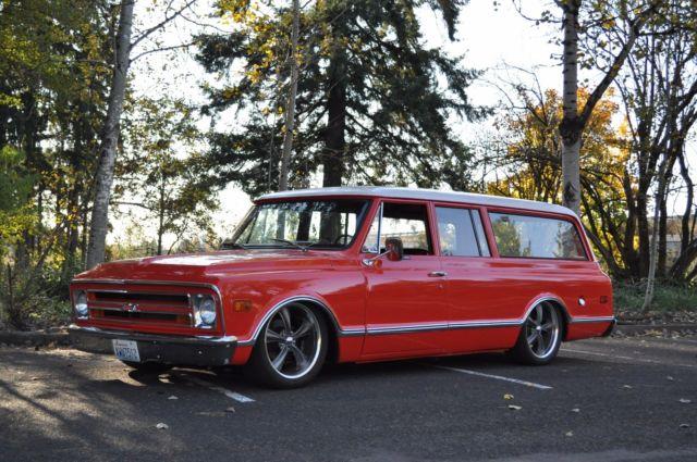 1968 Chevrolet Suburban Custom Restored Fuel Injected Ls