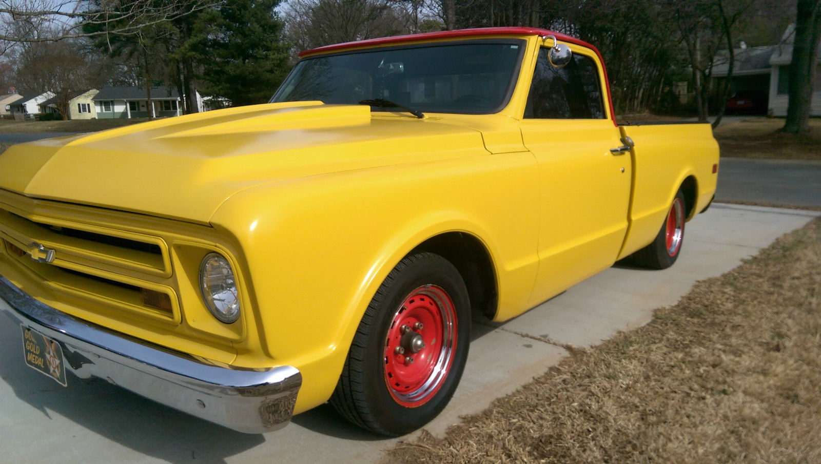1968 Chevy C 10 Chop Top Rat Rod Shop Truck Classic Chevrolet Pickup For Sale