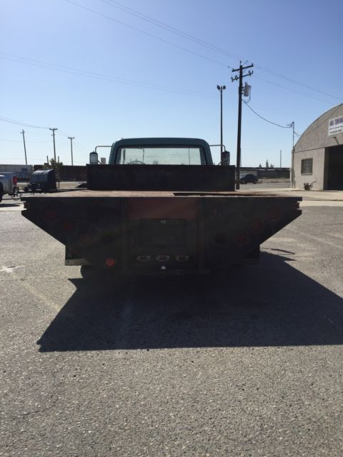 Dually Flatbed For Sale >> 1968 Chevy C-30 1 ton Dually Flatbed 2WD C30 Shop Truck - Classic Chevrolet C-10 1968 for sale