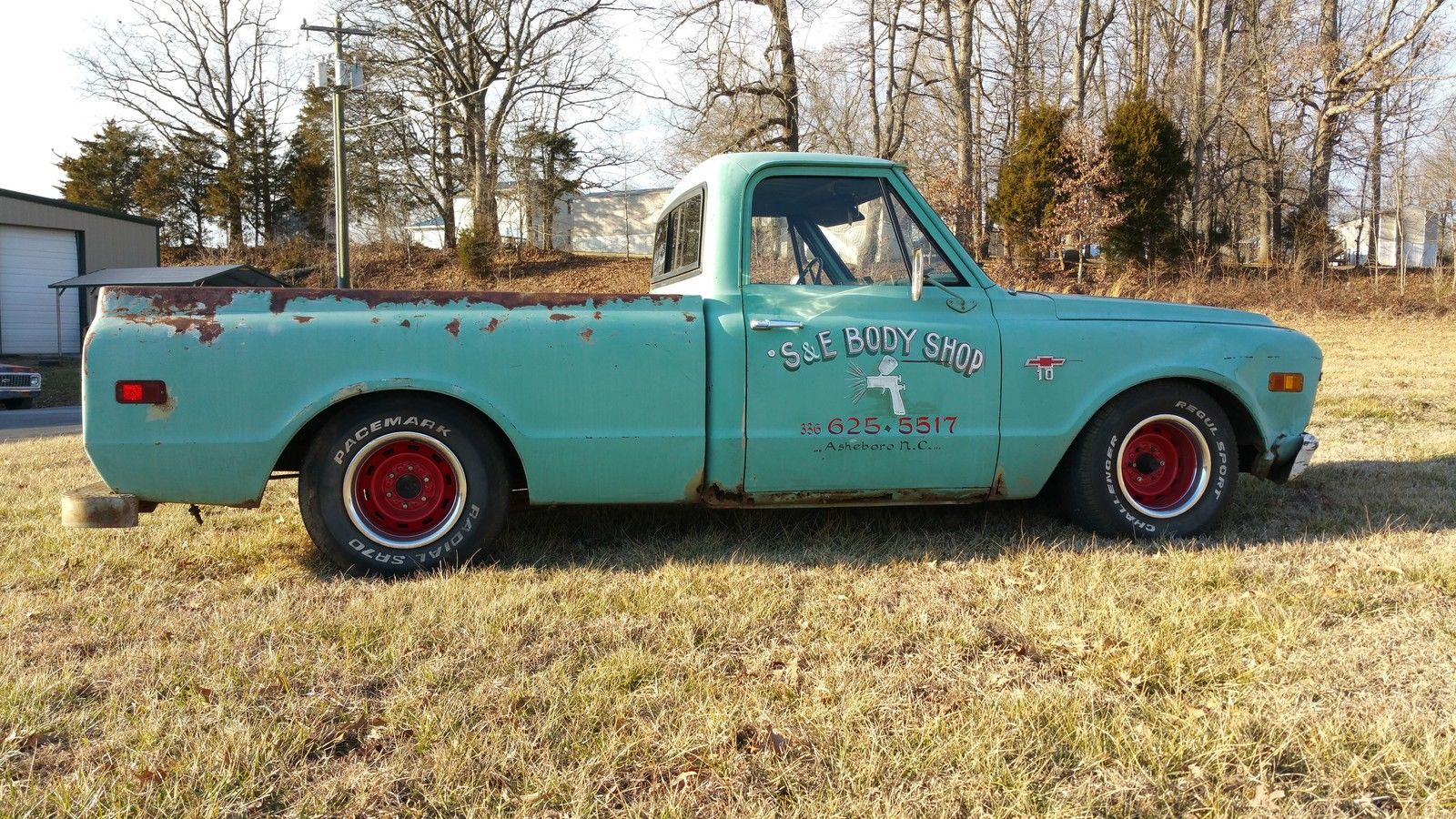 1968 Chevy C10 Shorted Shop Truck Classic Chevrolet C 10 For Sale Pickup