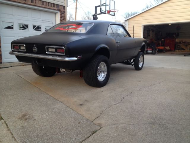 1968 Chevy Camaro Factory 327 Car Gasser 100 Badass