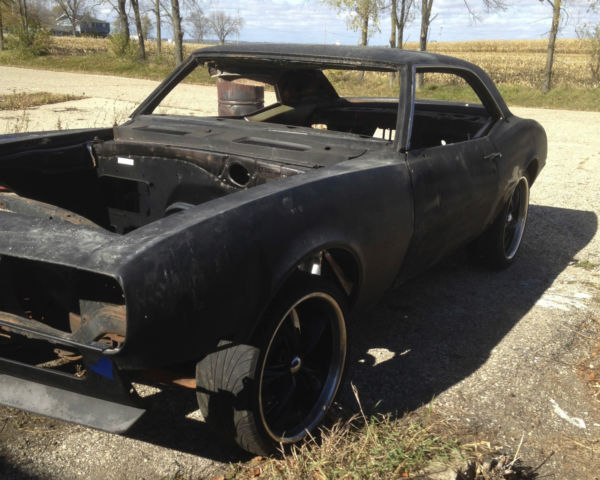 67 camaro project for sale