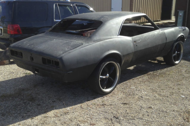 1968 Chevy Camaro Roller Project Car Z28 Ss 350 396 Copo