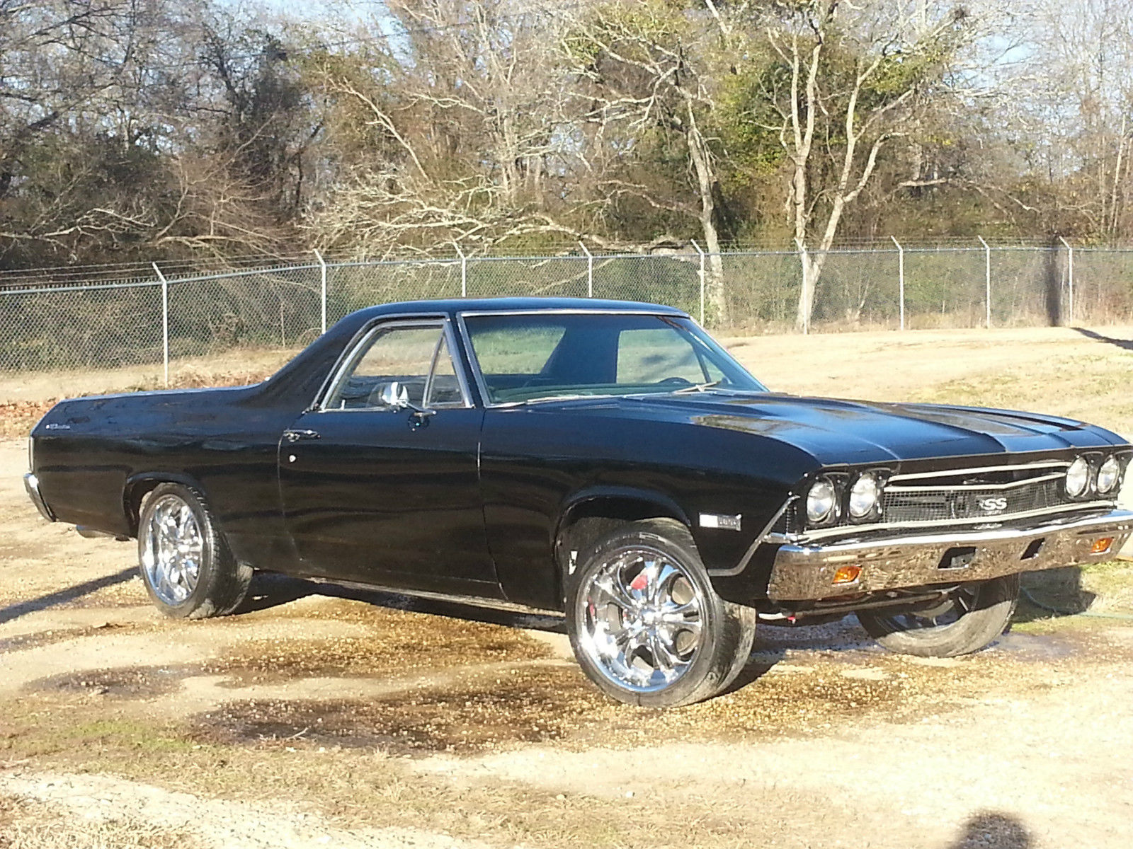 1968 chevy el camino super sport 396 classic chevrolet el camino 1968 for sale. Black Bedroom Furniture Sets. Home Design Ideas
