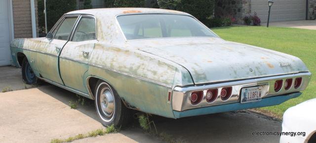 1968 Chevy Impala 4 Door Supernatural Metallicar Fan