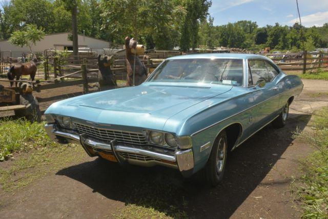 1968 Chevy Impala fastback- original engine - Classic ...