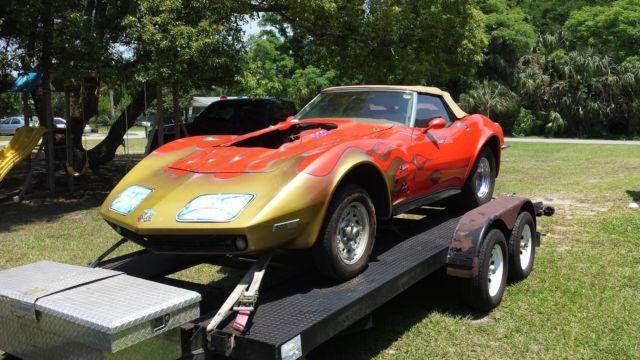 Corvette For Sale Florida >> 1968 corvette convertible pro street rolling chassis Tubbed 68 drag car racer - Classic ...