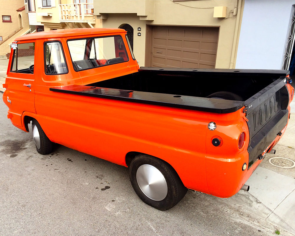 1968 Dodge A100 Van Truck Classic Other Pickups For Sale Camper