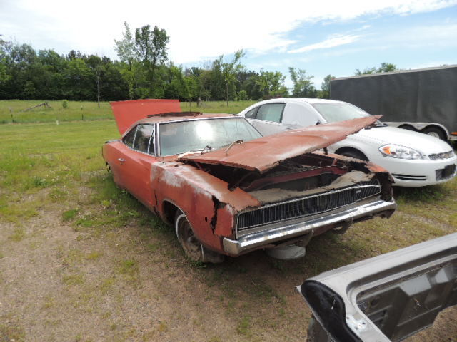Dodge Charger Parts >> 1968 Dodge Charger 318 Auto Parts Car For Hemi Or 440 R T Classic