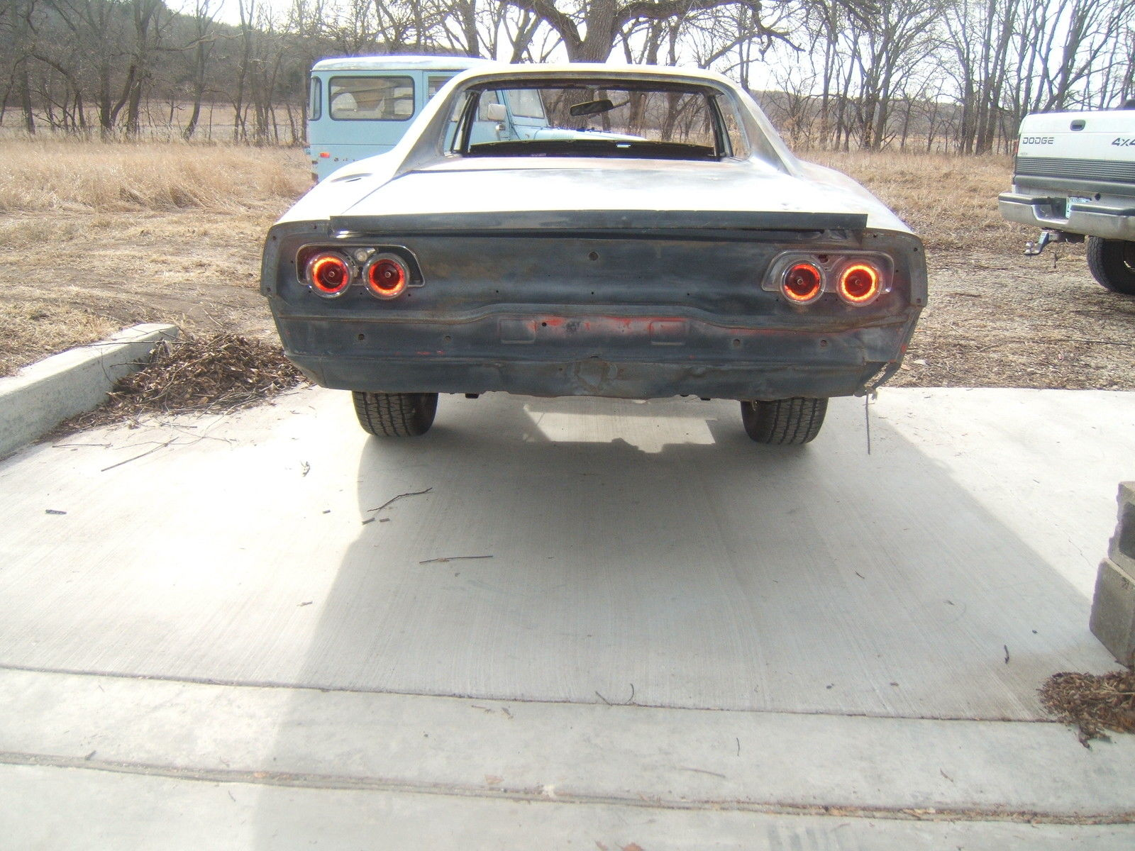1970 Dodge Charger Rt Project Car Overall Solid Car For Sale: 1968 Dodge Charger Project Not RT Not 1969 Or 1970 Charger