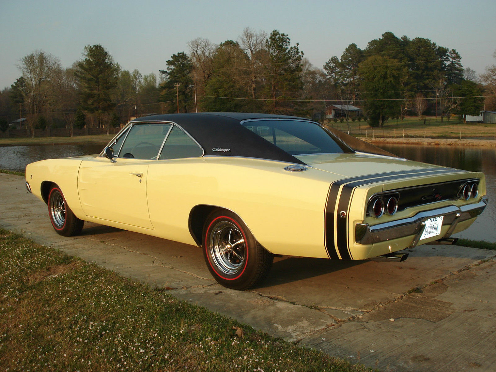 1968 Dodge Charger R T 440 Auto Ps Pdb A C Incredible