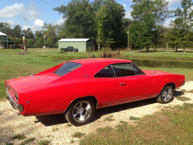 Dodge Viper Used >> 1968 Dodge Charger R/T Clone Viper Red 440 A/C 727 ...