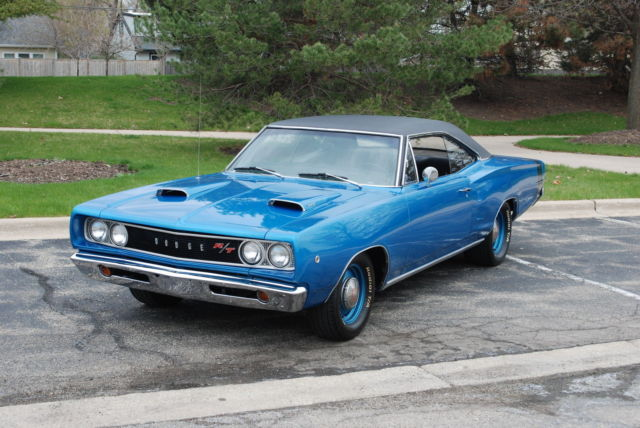 1968 Dodge Coronet 4 Speed 383 Mopar Classic Muscle Gtx