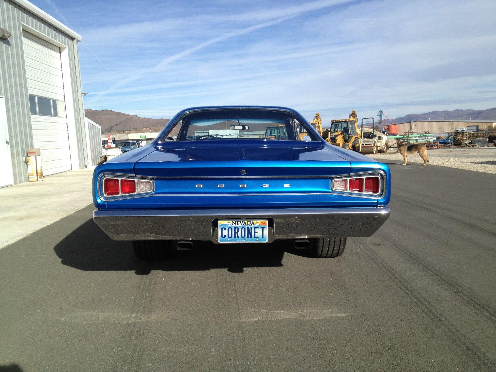 "1968 Dodge Coronet Model 440 that was 1 of 934 built ""H"" code  car,383-4barrel"