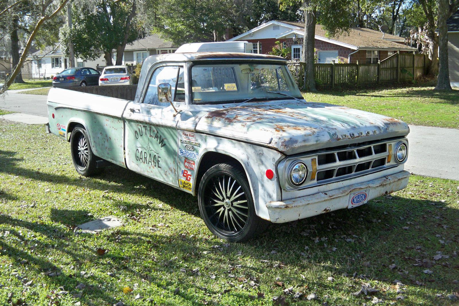 1968 Dodge D100 Classic - Rat Rod Garage Truck - Ages ...