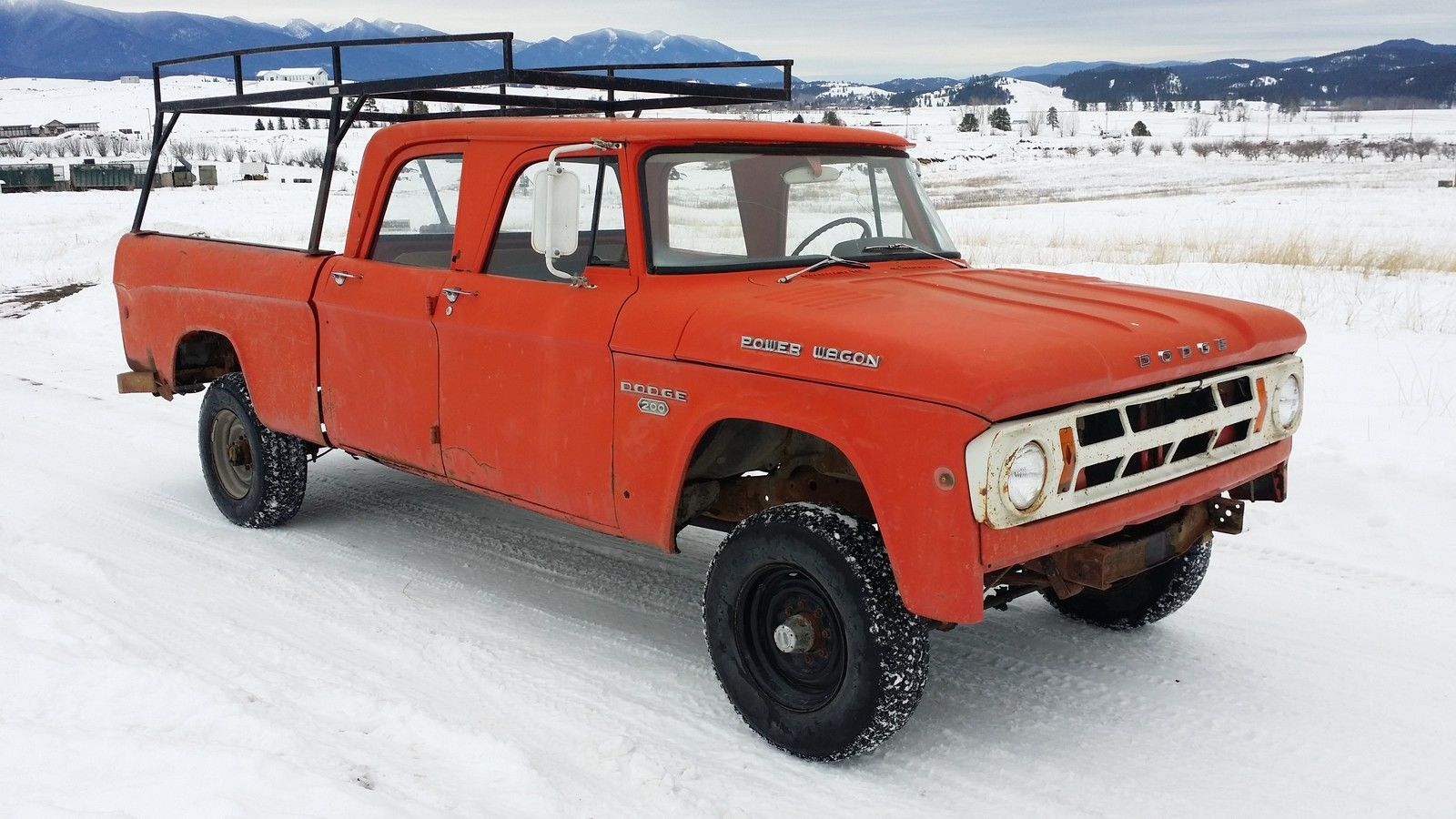 Dodge Power Wagon Crew Cab W Ton X Sweptline Pickup Truck Runs Nice on 1979 Dodge Power Wagon