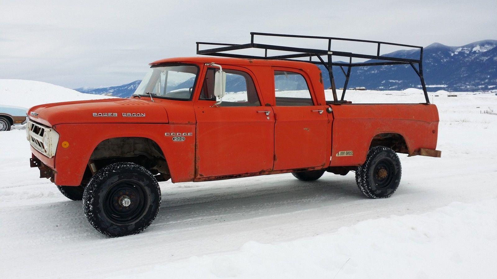 Crew Cab International For Sale >> 1968 W200 Dodge Power Wagon Crew Cab | Autos Post