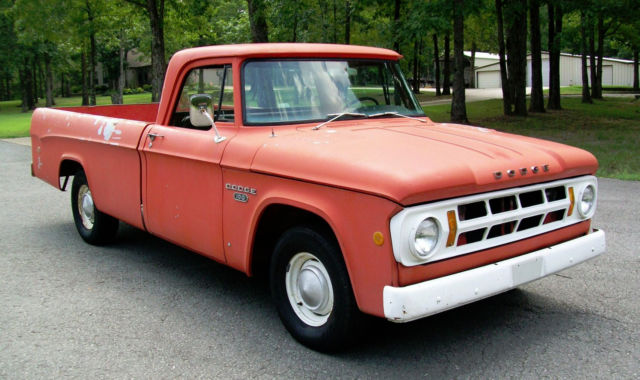 1968 Dodge Truck Classic Dodge Other Pickups 1968 For Sale