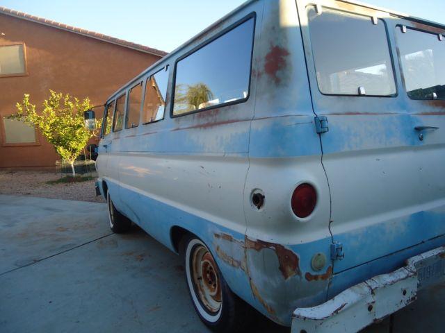1968 Dodge Van A100 Sportsman Classic  Van Dodge A108