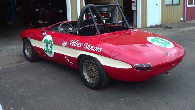 Duetto Race Car