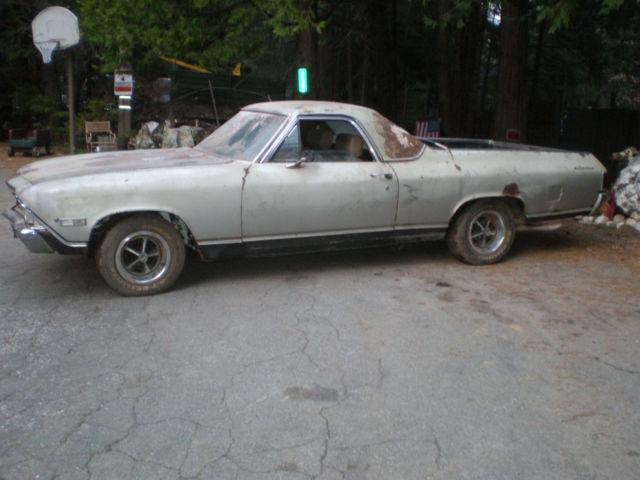 1968 El Camino Ss 1 Owner 41k Miles 396 Matching Munci