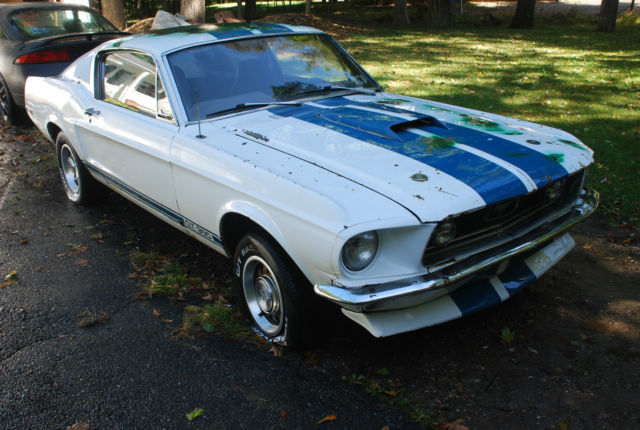 1968 fastback mustang 2 2 project car barn find factory bullitt green car classic ford. Black Bedroom Furniture Sets. Home Design Ideas