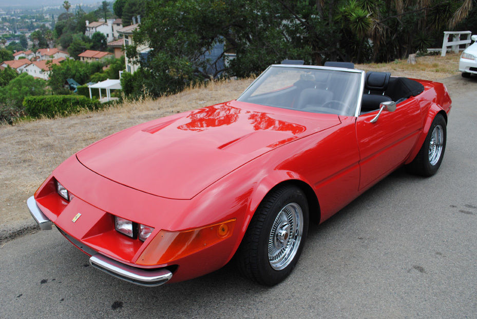 Ferrari Daytona Spyder Convertible Replica Speed