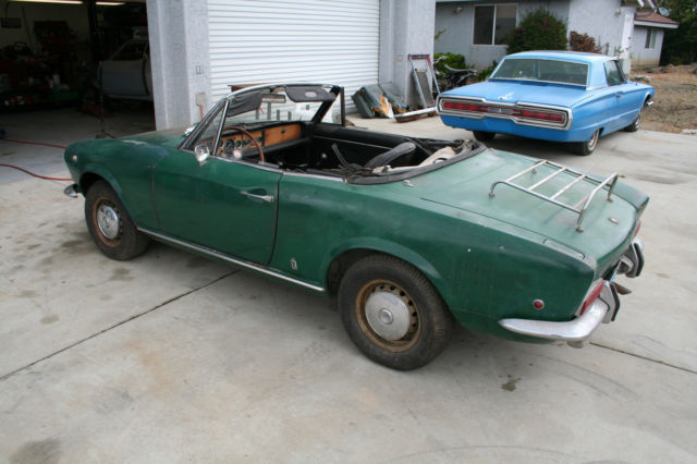 1968 fiat 124 spider convertible 2 door sports car classic fiat other 1968 for sale. Black Bedroom Furniture Sets. Home Design Ideas