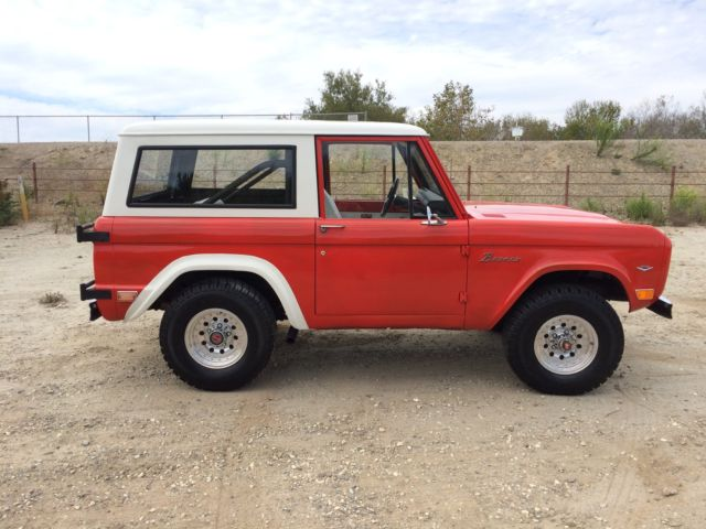 Ford Bronco First Generation Bronco on Ford 302 Engine Questions