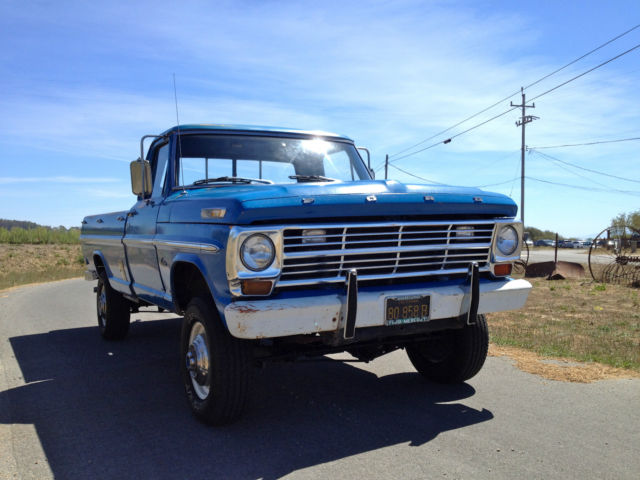 Red Bluff Dodge >> 1968 ford f-250 highboy - Classic Ford F-250 1968 for sale