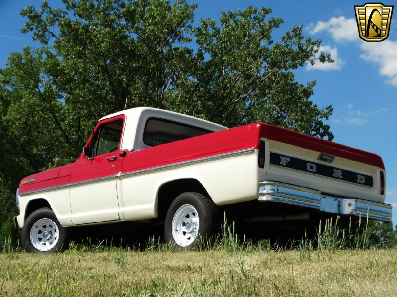 1968 Ford F100 10000 Miles Two Tone Red Over White Pickup