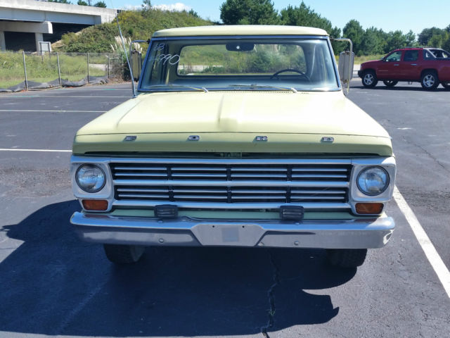 1968 Ford F100 Lwb Pick Up One Local Family Owned