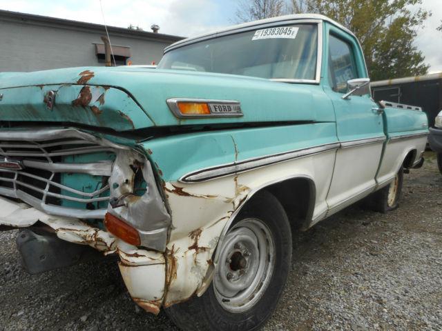 1968 ford f100 ranger swb southern truck 390 v8 manual transmission classic ford f 100 1968. Black Bedroom Furniture Sets. Home Design Ideas