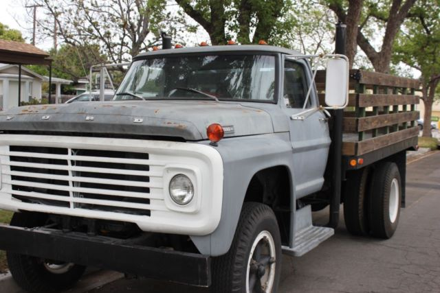 1968 Ford F600 Truck Flat Bed Stake Bed Classic Ford