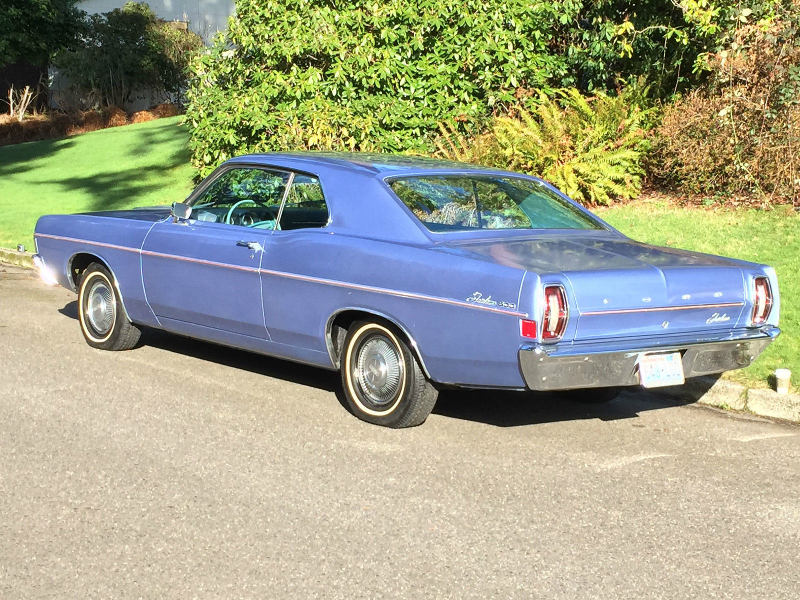 Titus Will Tacoma >> 1968 Ford Fairlane 500 Hardtop Coupe 2dr - 8-cyl. 289cid ...
