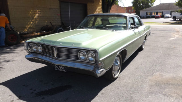1968 Ford Galaxie 500 4 Door Sedan 302 V8 3 Speed