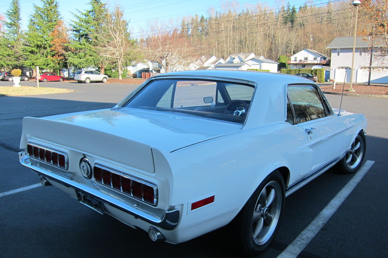 1968 Ford Mustang 289 V8 Shelby Gt350 Coupe Recreation 17