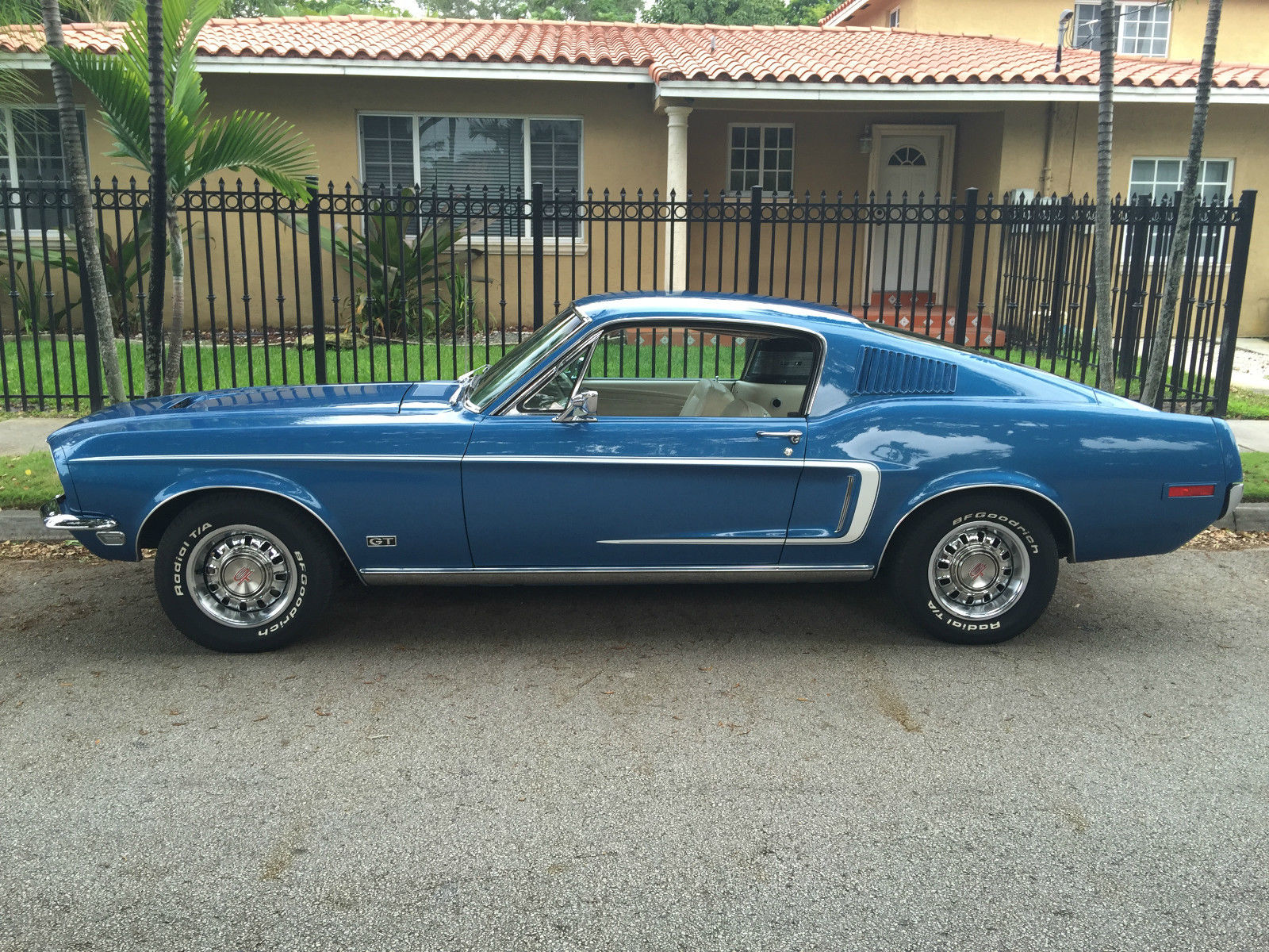 1968 ford mustang gt fastback s code 390 with matching numbers classic ford mustang 1968 for sale. Black Bedroom Furniture Sets. Home Design Ideas