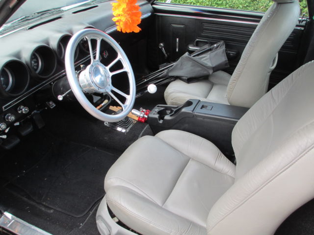 1968 Ford Ranchero Black exterior, Black and grey interior ...