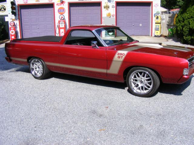 1968 Ford Ranchero Pro Touring Hot Rod Custom Show