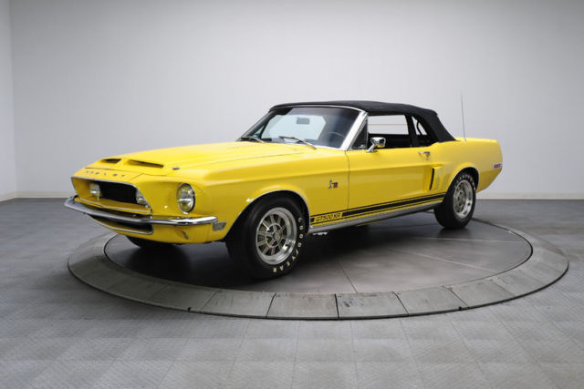 1968 Mustang Yellow