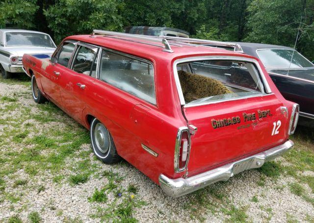 1968 Ford Torino Fairlane Station Wagon ratrod project no