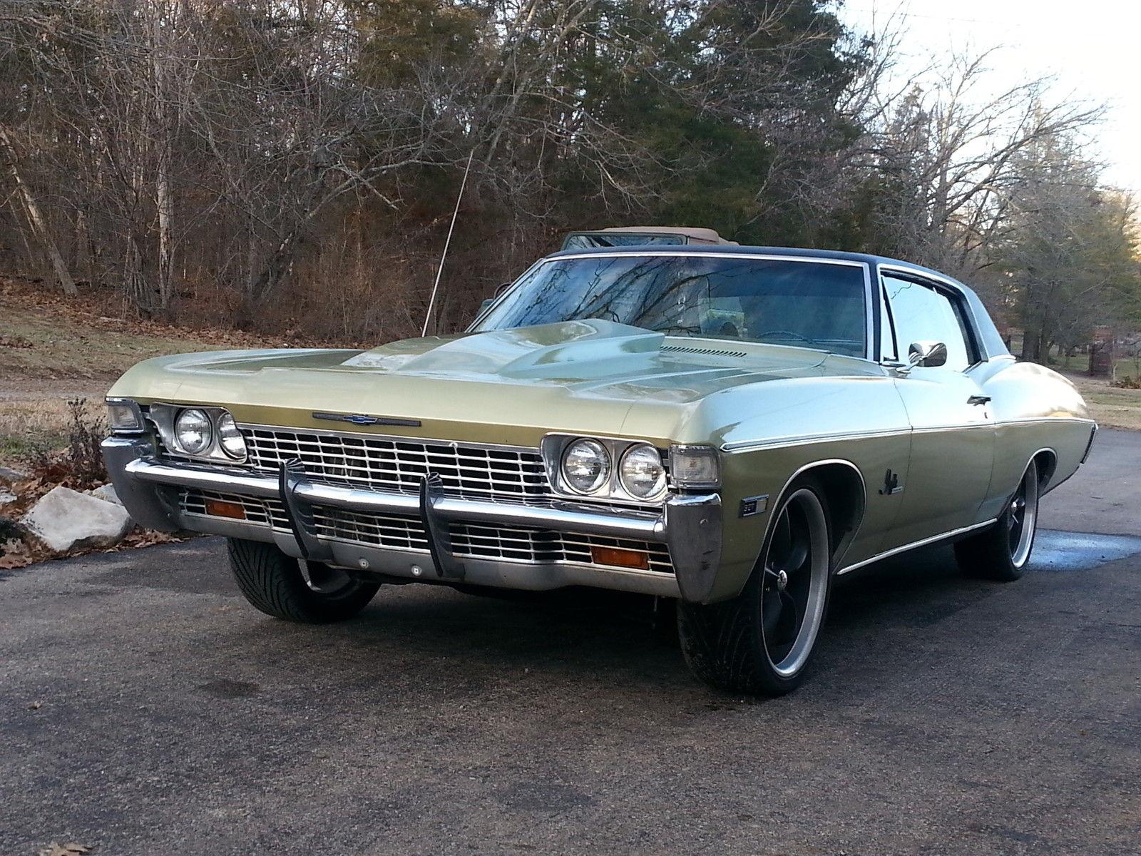 1968 impala 8 1 ls 4l80e classic chevrolet impala 1968 for sale. Black Bedroom Furniture Sets. Home Design Ideas