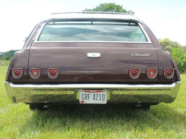 1968 impala station wagon   6 passenger   chevy   chevrolet   patina   hot rod   classic