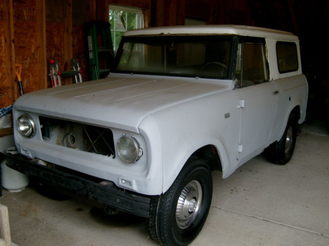 1968 International Harvester Scout 800 & Lot's of OEM Parts