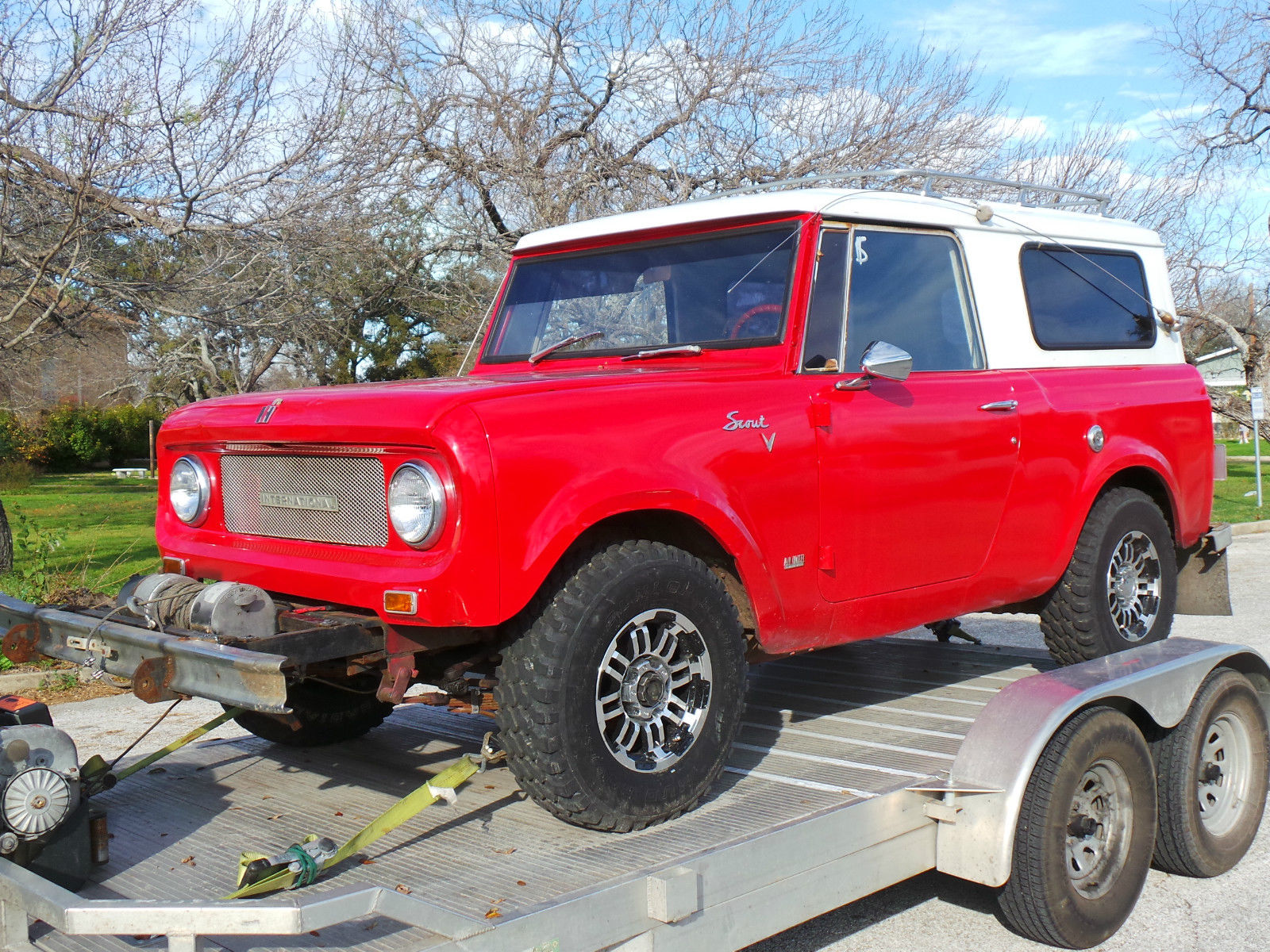 1968 International Scout 800 Factory V8 With Winch And