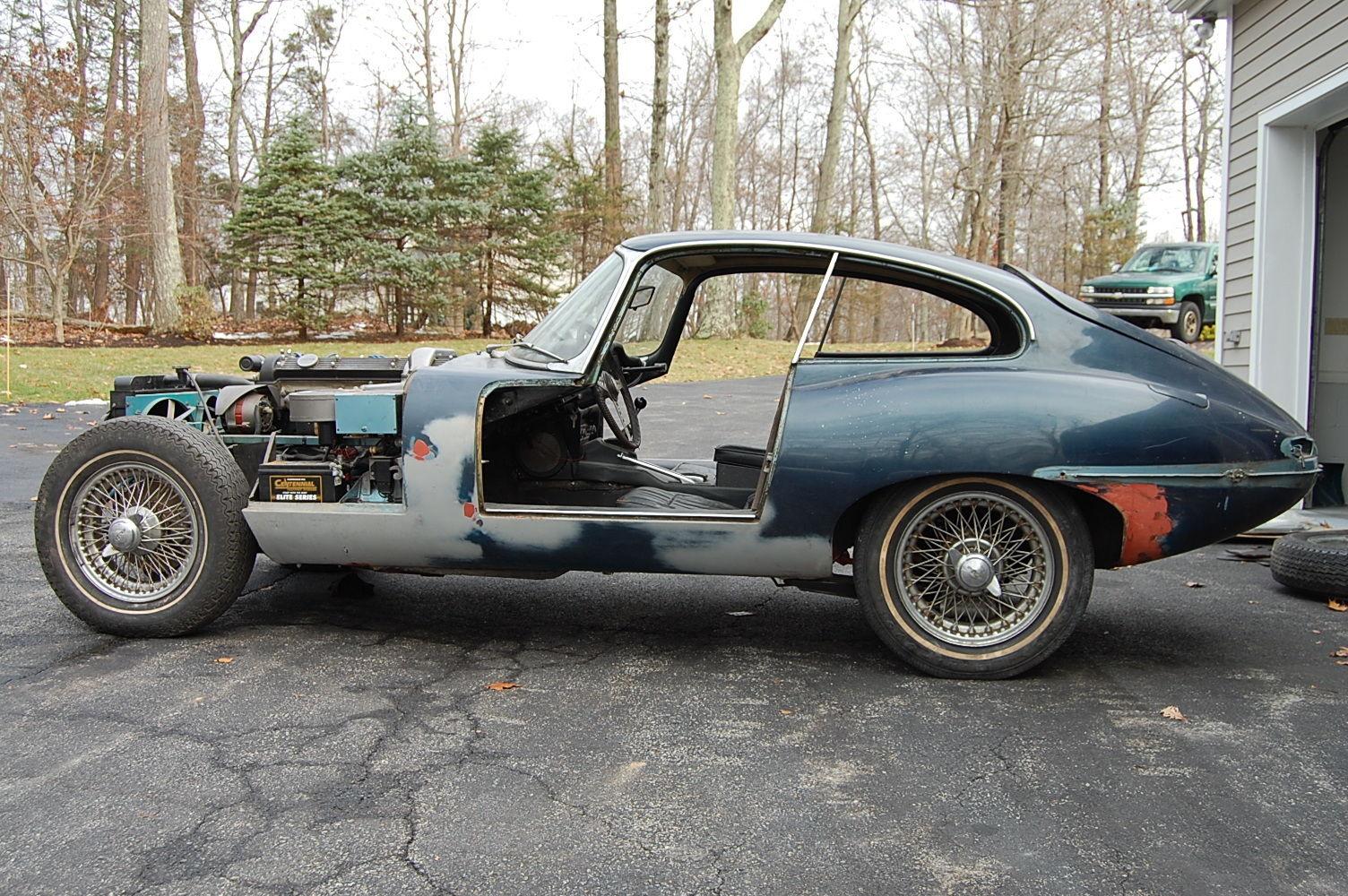 1968 Jaguar XKE E-type Series 1.5 Coupe Needs Finishing ...