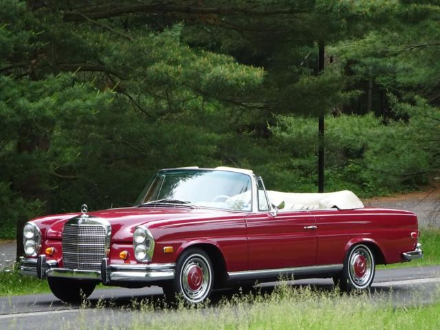 1968 mercedes benz 280se cabriolet classic mercedes benz for 1968 mercedes benz 280 se convertible