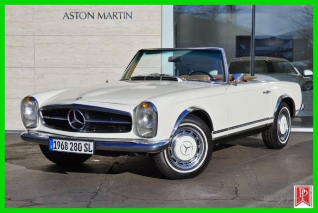 1968 mercedes benz 280sl pagoda top 4 speed mt for Mercedes benz 280sl pagoda